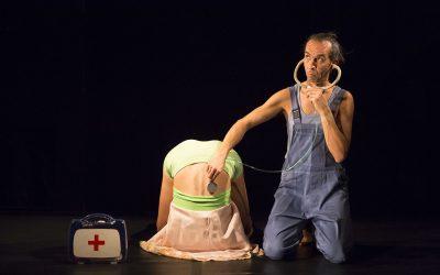 Predstava Moje tijelo na 14. međunarodnom festivalu Pozorište Zvezdarište u Beogradu