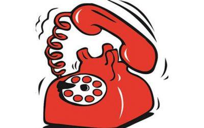 Obavijest – problemi s telefonskom linijom